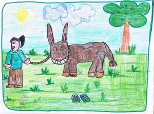 Copertina del Manuale operativo per l'attività di mediazione con l'asino